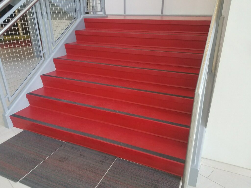 Commercial Carpet Stairs | Webb Carpet
