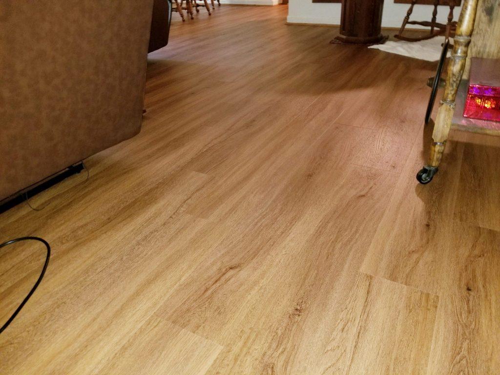LVP Living Room | Webb Carpet
