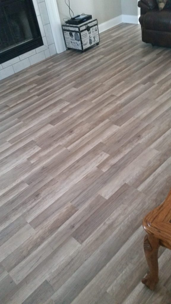 LVP Wood Look Home | Webb Carpet