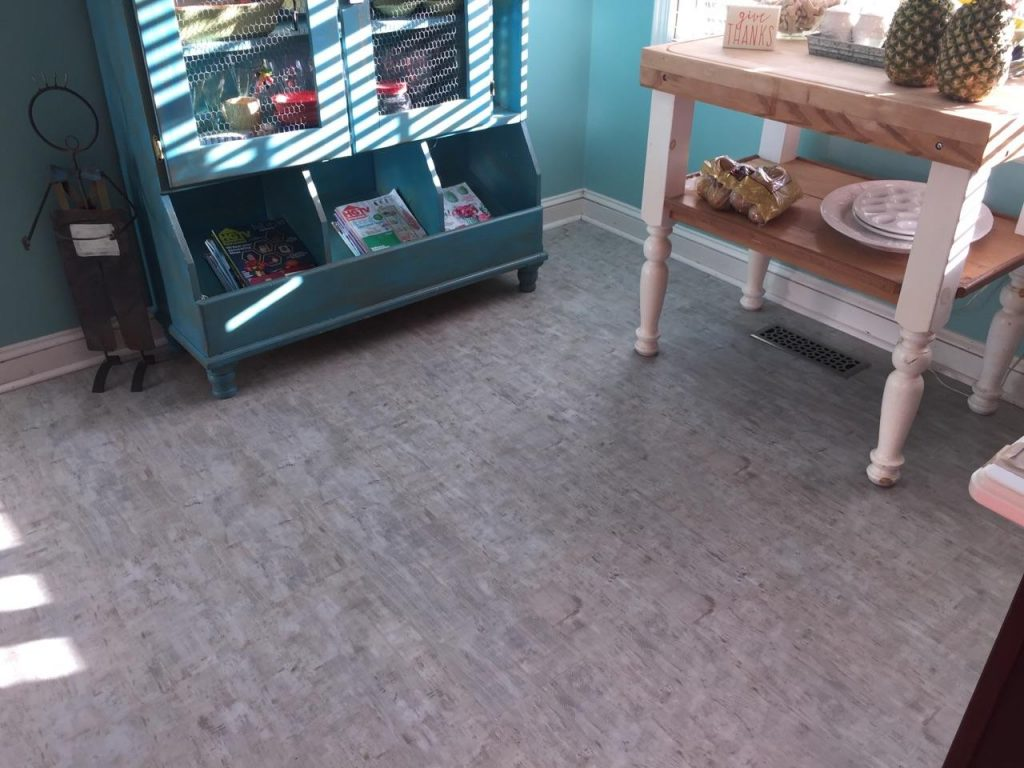 LVT Mudroom