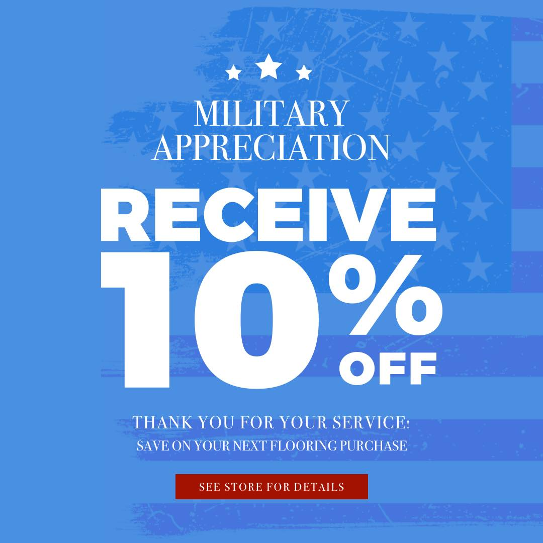 Military Appreciation coupon