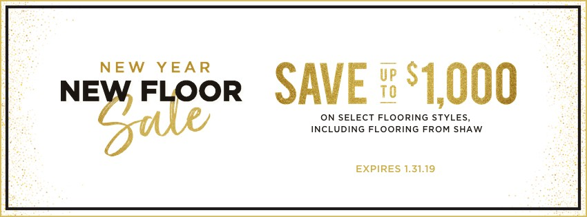 New year New Floor Sale | Webb Carpet