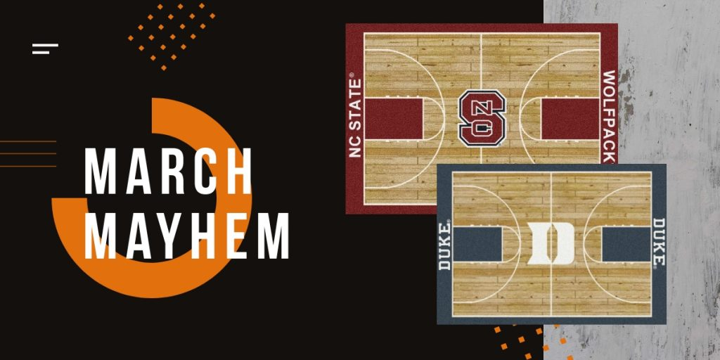 March Madness promotion | Webb Carpet