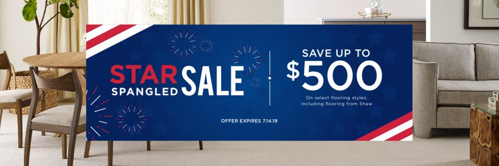Star spangled banner sale | Webb Carpet