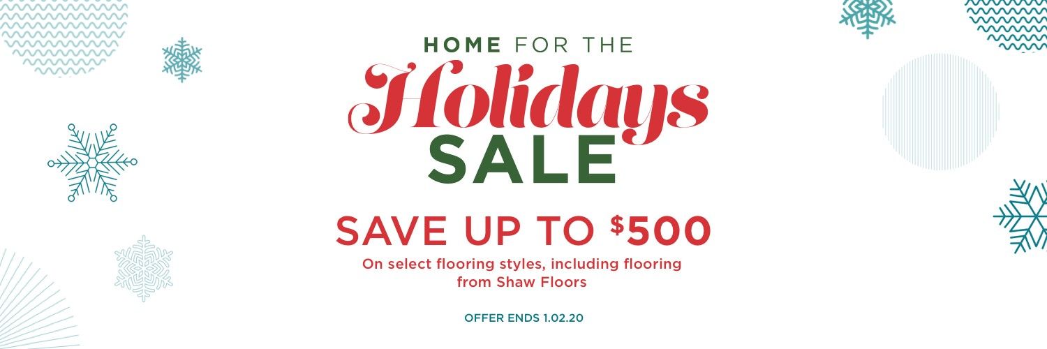 Holiday sale | Webb Carpet