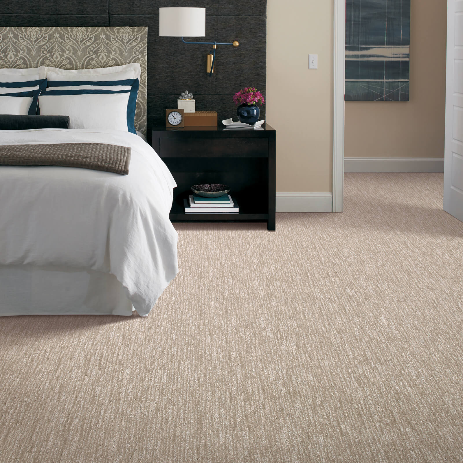 New carpet in bedroom | Webb Carpet