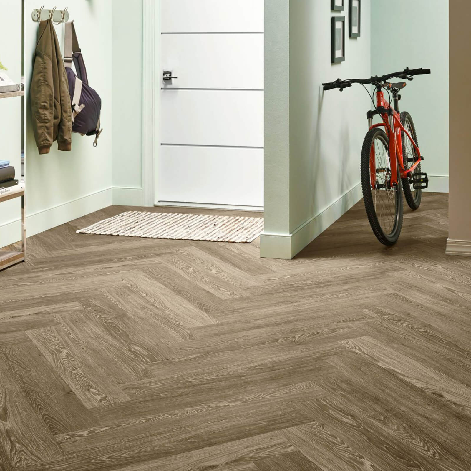 Bicycle on flooring | Webb Carpet