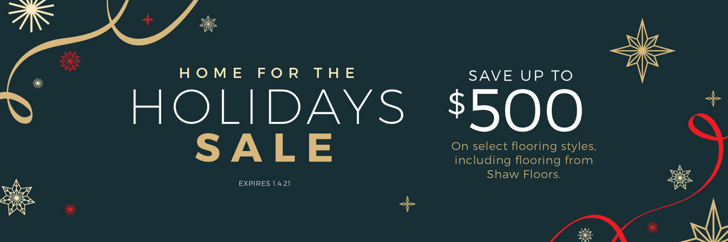 Home For the holiday sale | Webb Carpet Company