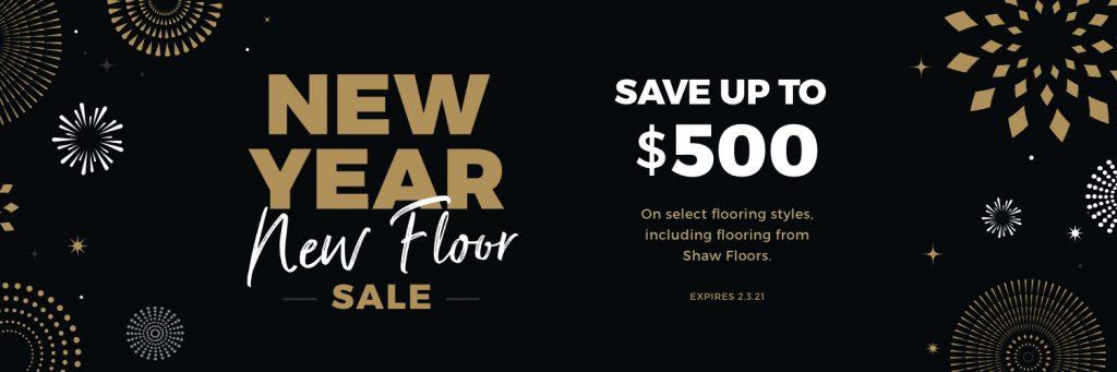 New Year New Floors Sale | Webb Carpet Company