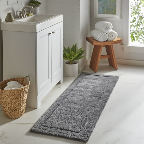 Using Rugs in the Bathroom | Webb Carpet Company
