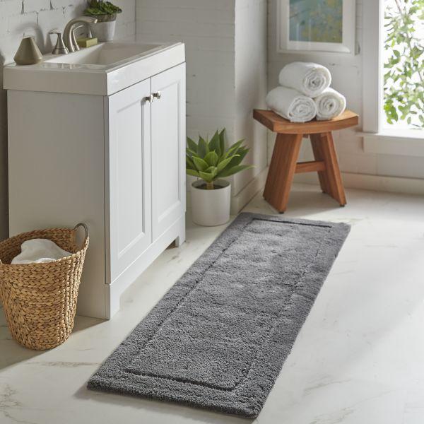 Using Rugs in the Bathroom | Webb Carpet Company
