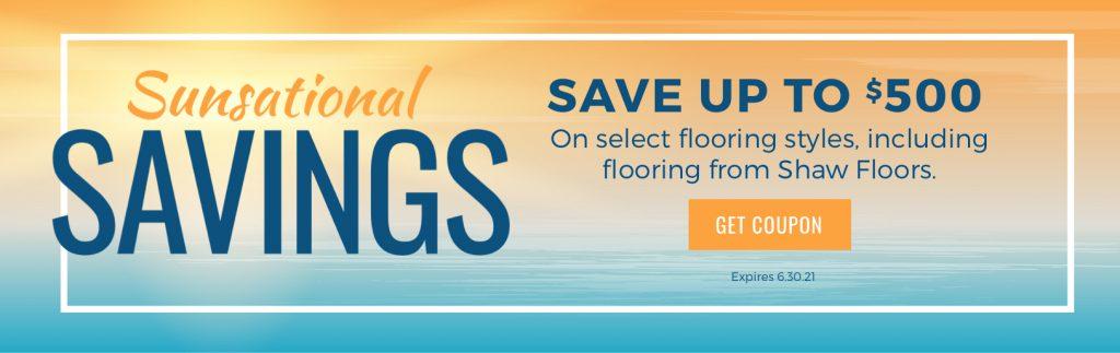 Sunsational Savings Sale   Webb Carpet Company
