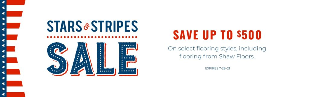 Stars & Stripes Sale   Webb Carpet Company